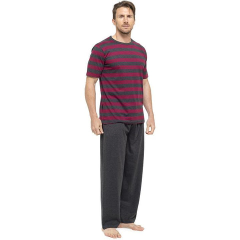Mens Striped Long Pyjamas
