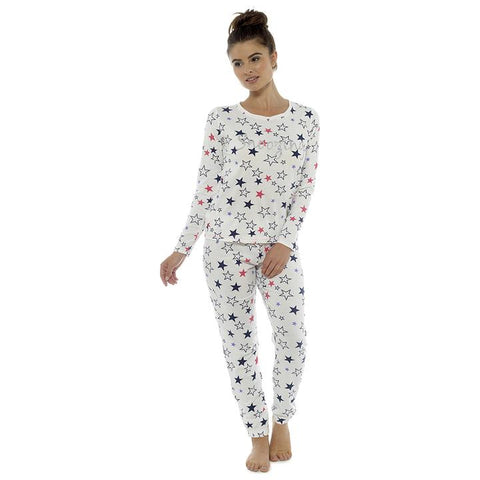 Ladies Star Print Pyjamas