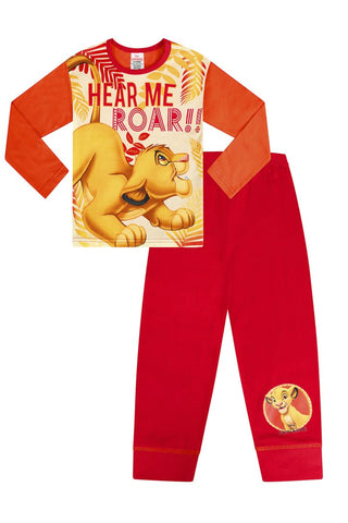 Disney The Lion King Long Childrens Character Pyjamas