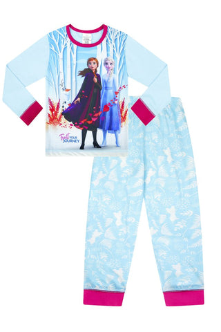 Girls Frozen 2 Long Pyjamas
