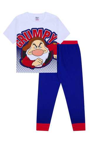 Mens Disney Snow White Long Pyjamas