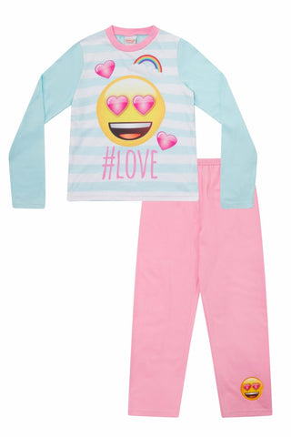 Girls  #Love Emoji Pyjamas