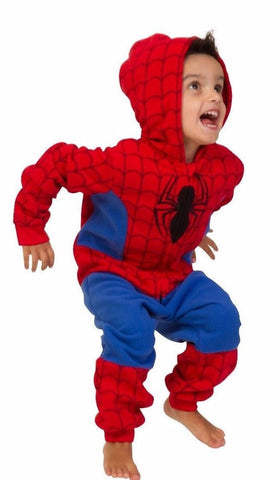 Boys Spiderman Onesie