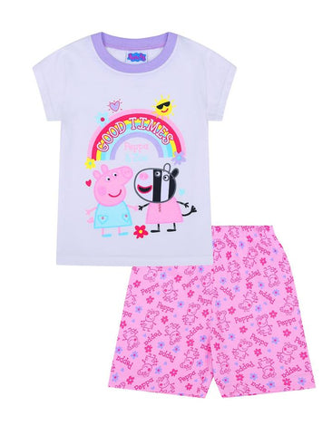 Girls Peppa Pig Short Pyjamas