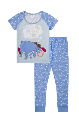Eeyore Women's Is It The weekend Yet? Long Pyjamas