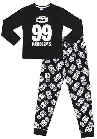 Gaming Long Pyjamas 99 Problems Battle Royale Legend