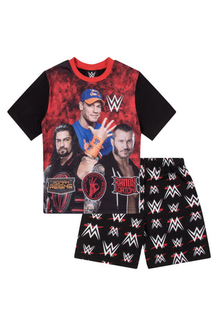 Boys WWE Short Pyjamas John Cena & Friends