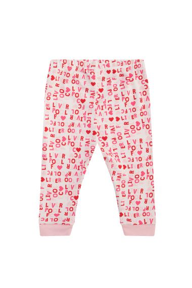 Liverpool FC Pink Long Pyjamas