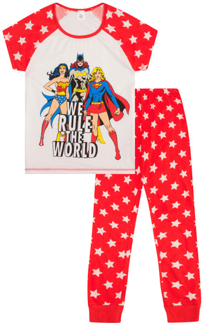DC Originals Super Hero Long Pyjamas