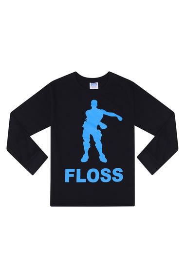 Floss Dance Gaming Pyjamas BLUE Cotton Long