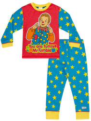 "Boys Mr Tumble ""Something Special""  Long Pyjama Set w17"