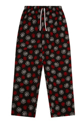 Mens Official Manchester United Football Club All Over Print Lounge Pants
