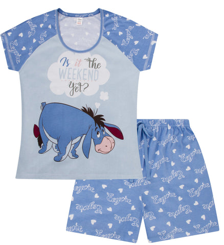 Eeyore Is It The Weekend Yet Short Pyjamas