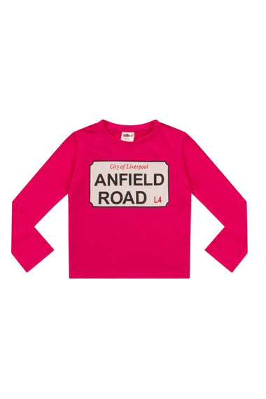 "Liverpool FC ""Anfield Road"" Long Pyjamas"