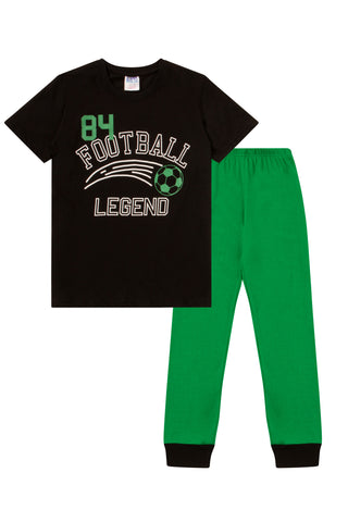 Glow In The Dark Football Legend Long Pyjamas