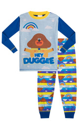 Boys Hey Duggee Rainbow Long Pyjama Set