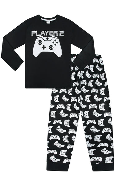 Player 1//2 Gaming Controller Long Pyjamas