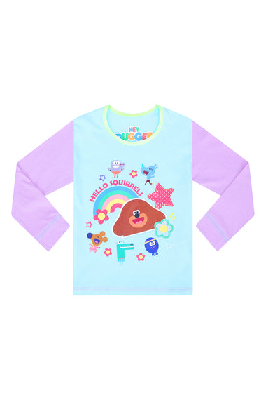 Girls Hey Duggee Hello Squirrels Long Pyjamas