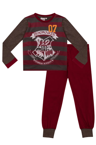 "Harry Potter Pyjamas ""07"" Hogwarts Crest Long"