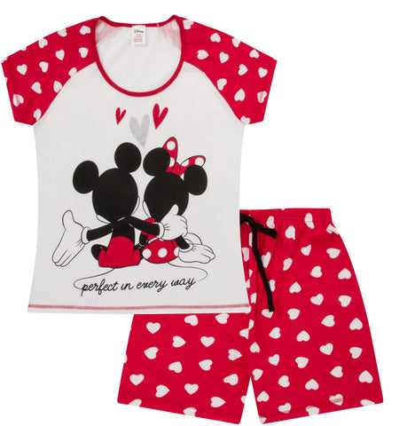 Minnie and Mickey Short Pyjamas