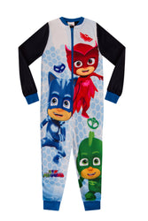 Boys PJ Masks Onesie Sleep Suit Set