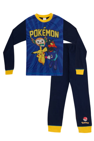 Pokemon Pikachu Long Pyjamas