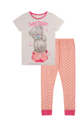 "Ladies Me To You ""Sweet Dreams Tatty Teddy"" Long Pyjama Set"
