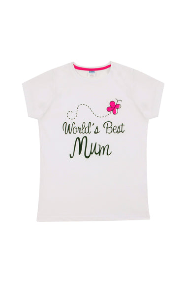 Ladies Short Pyjamas World's Best Mum