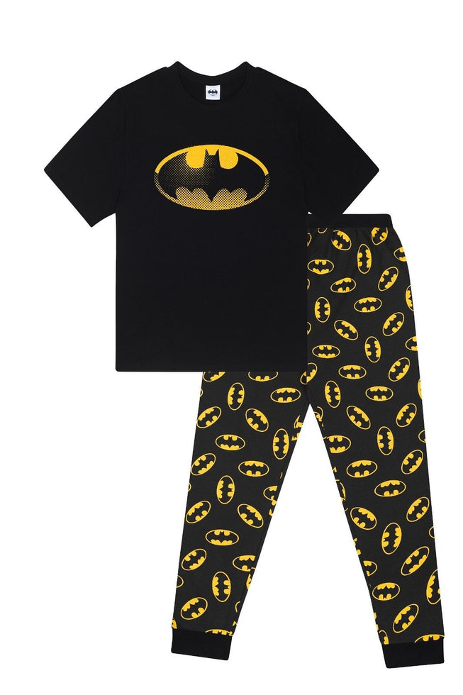 Men's Batman Logo Cotton Pyjamas