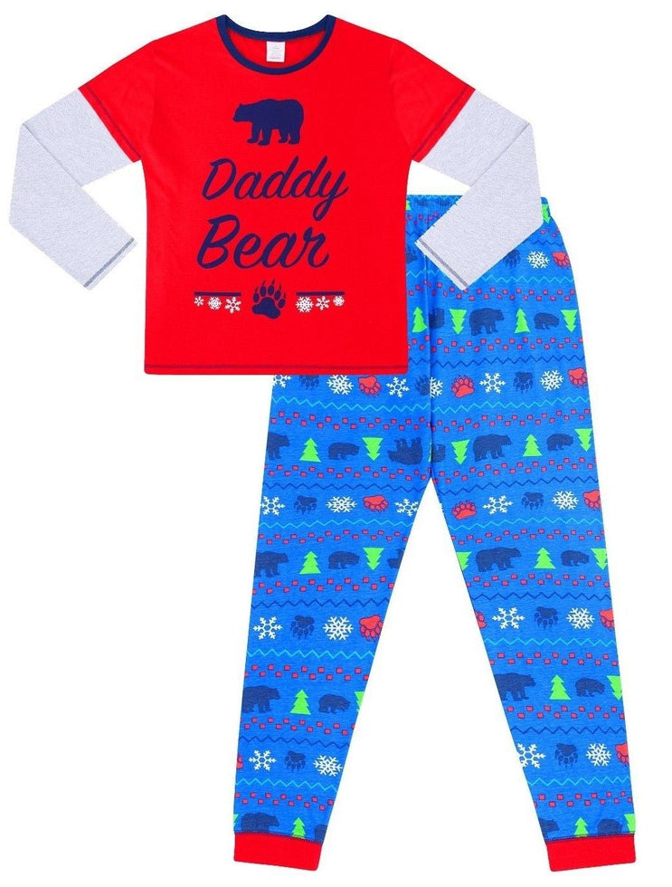 Daddy Bear Matching Family Christmas Pyjamas
