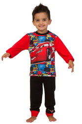 Boys Cars Lightning McQueen Long Pyjama Set