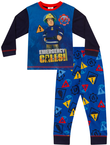 Fireman Sam Long Pyjamas