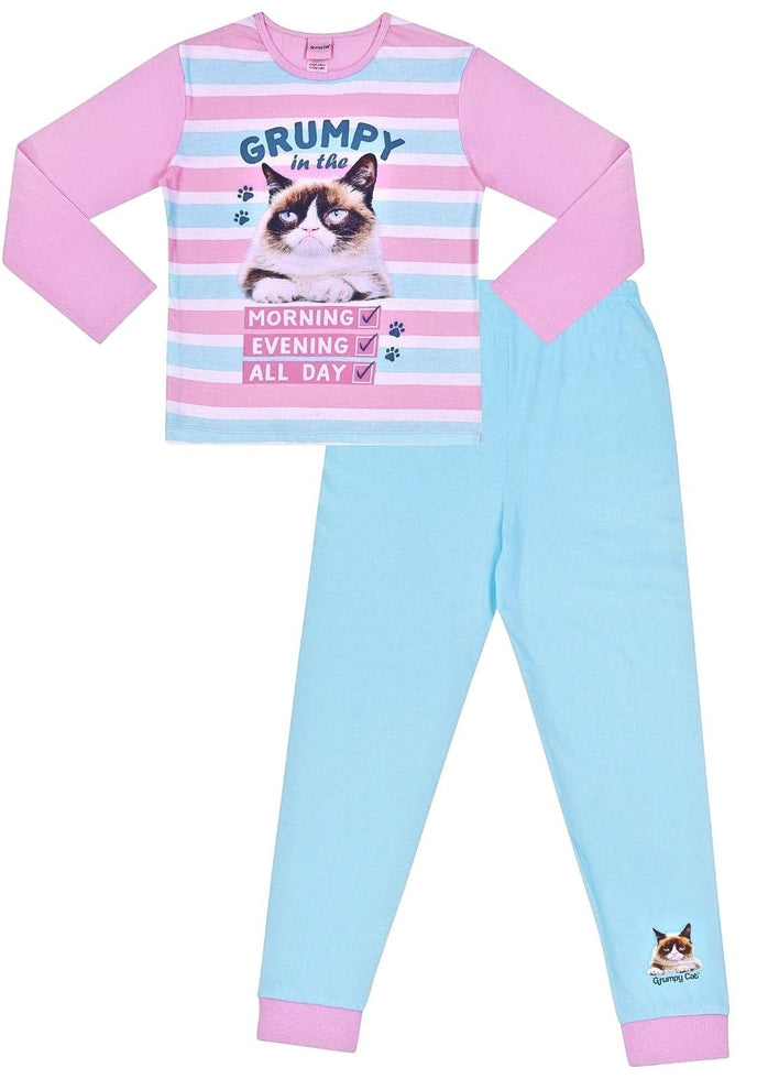 Lovely Girls Official Grumpy Cat Long Pyjamas