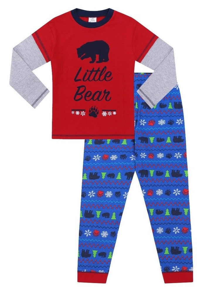 Little Bear Matching Family Christmas Pyjamas