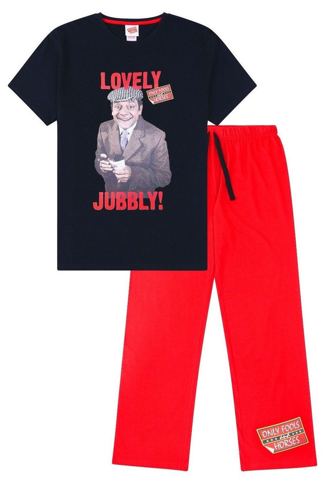 Only Fools And Horses Lovely Jubbly ! Del Boy Cotton Pyjamas
