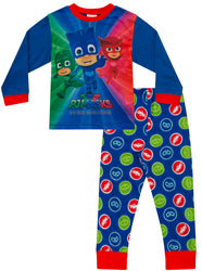 "Boys PJ Masks ""It's Time To Be A Hero"" Long Pyjama Set"