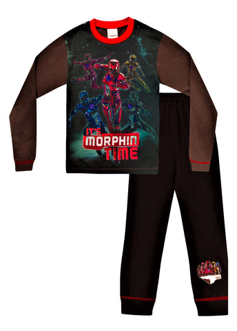 "Power Rangers ""It's Morphin Time"" Long Pyjamas"