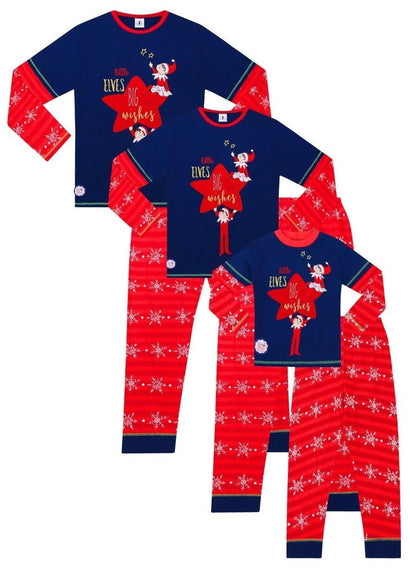 Official Elf on The Shelf Christmas Matching Family Pyjamas