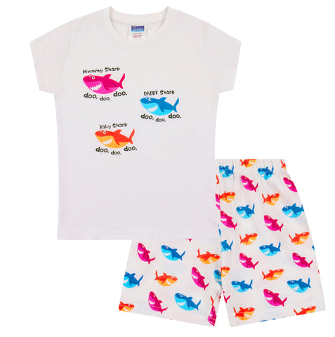 Shark Family Short Pyjamas