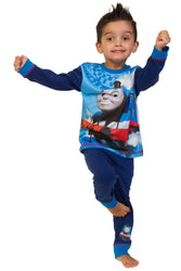 Boys Thomas The Tank Engine Long Pyjama Set