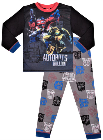 Transformers Optimus Prime and Bumblebee Long Pyjamas