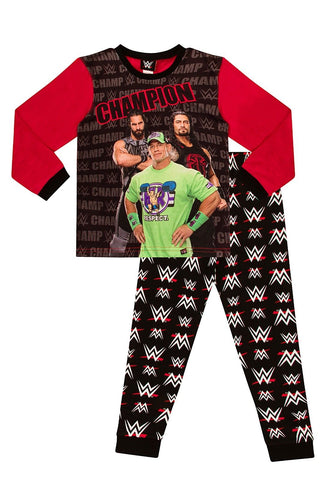 Boys WWE Pyjamas