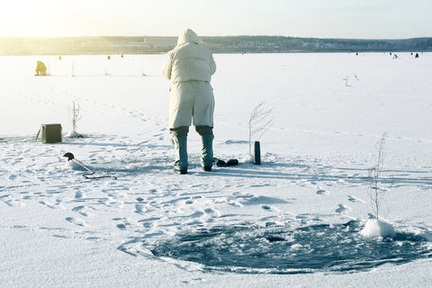 Fishing For Perch and Whitefish in the Winter