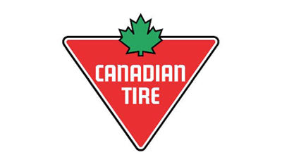 Logo for Canadian Tire a retailer for BaitCloud fish attractant balls