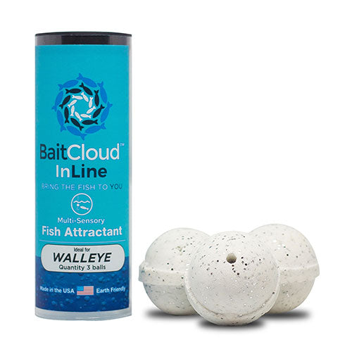 BaitCloud Fish Attractant for Walleye