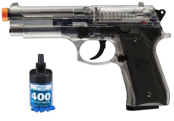 Refurbished Airsoft Beretta Mod. 92 FS Spring Pistol Kit Free Ship