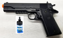 Refurbished Colt M1911 A1 Airsoft Spring Pistol with bbs Free Ship!