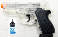 Refurbished Compact 45 Airsoft Spring Pistol with bbs Free Ship!