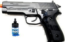 Refurbished Sig Sauer P228 Spring Airsoft Pistol with bbs Free Ship!