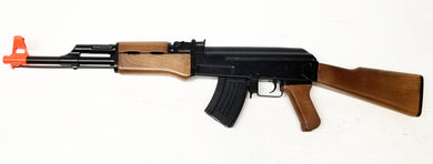 Full Size Plastic AK47 Replica Prop Gun no trademarks, BROKEN Airsoft Gun, For Prop Use Only